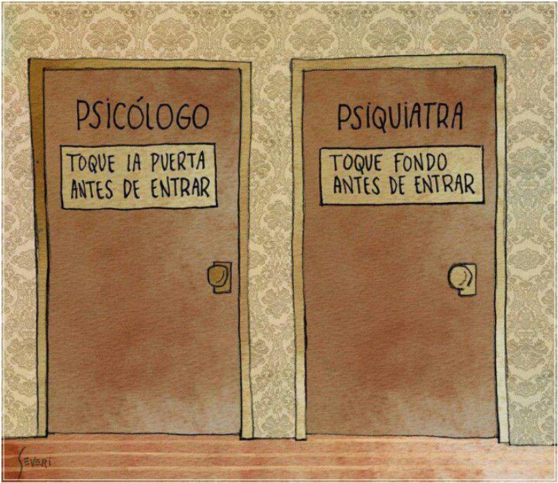 Psicólogo o psiquiatra. ¿Dónde acudir?